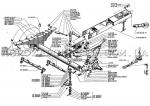 Передняя ось с подвеской для КТУ-10А